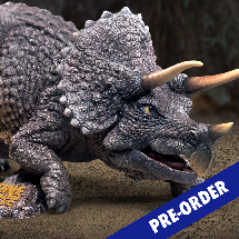 TRICERATOPS (ONE MILLION YEARS B.C.)