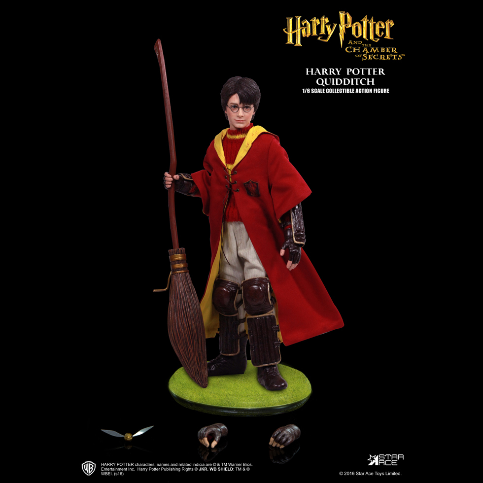 Harry Potter Quidditch Buch