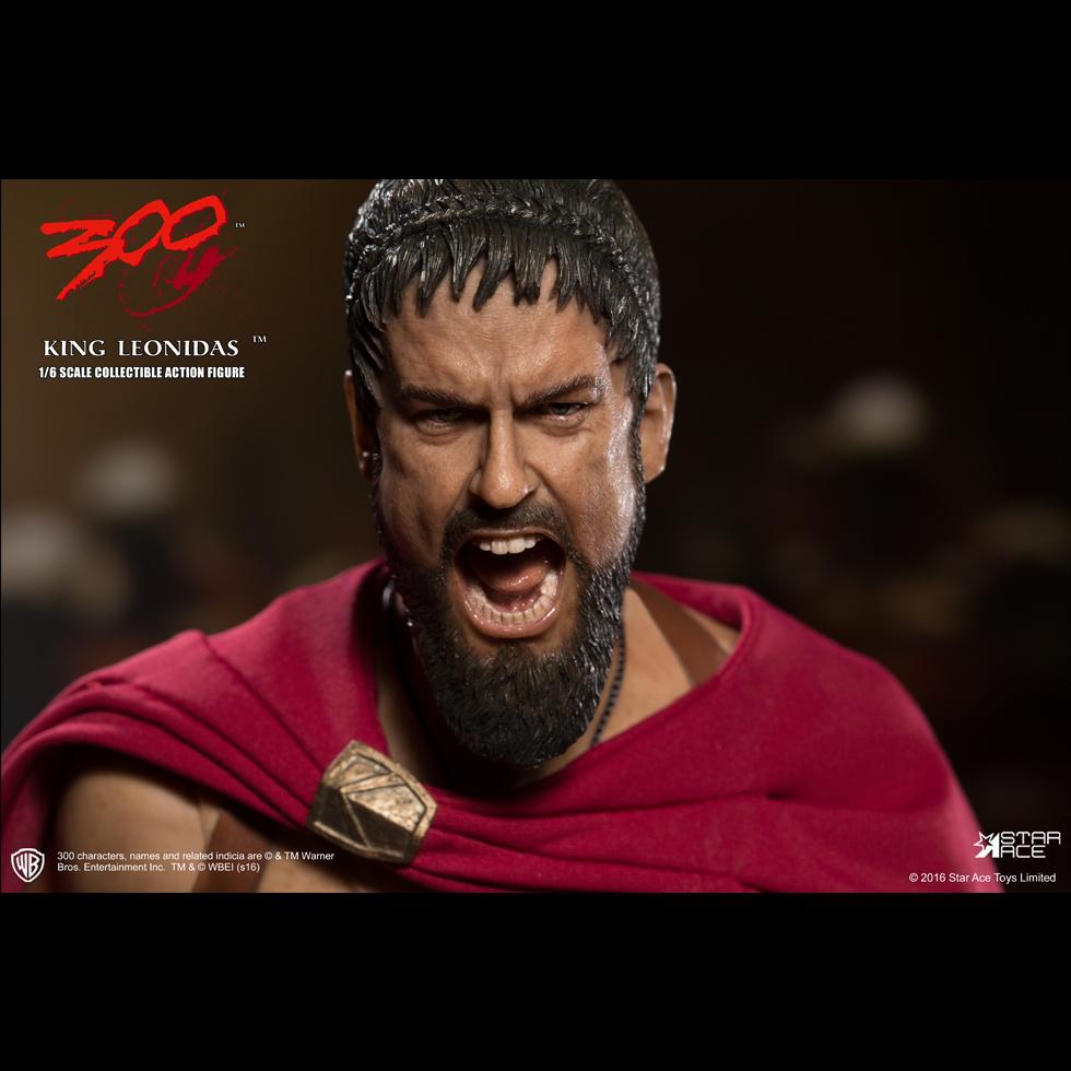 King leonidas 300 body